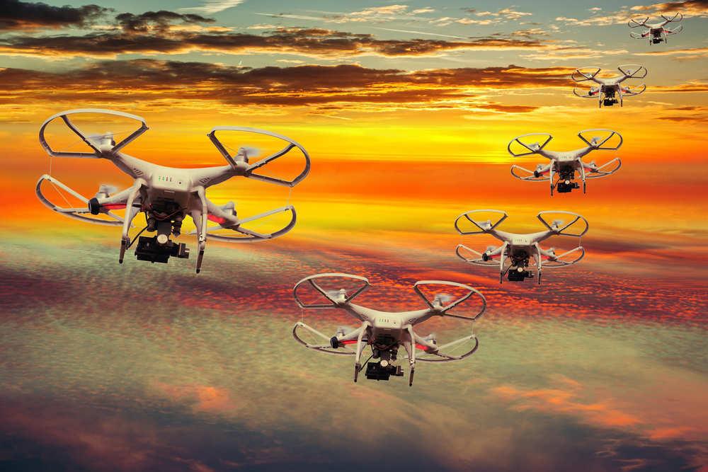 Drones en publicidad
