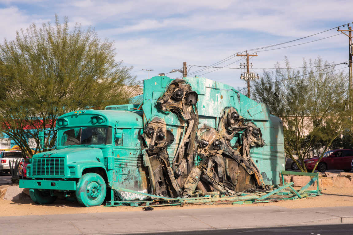 Artur Bordalo, el artista de la basura